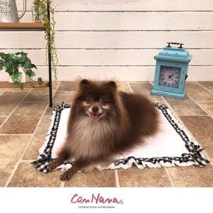 クール マット ひんやり ペット  犬 チェック  WEB限定 きゃんナナ ドッグウェア ブランド|cannanaonline|07
