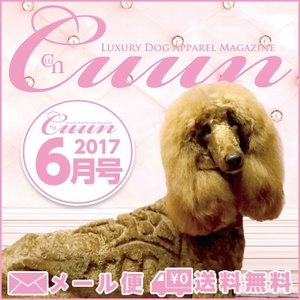 送料無料 Cuun2017 クーン 6月10日号 雑誌 情報誌 犬の本|cannanaonline