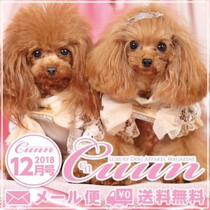 Cuun2018 12月10日号 雑誌 情報誌 犬の本 送料無料|cannanaonline