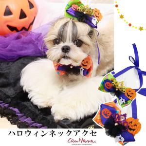 ハロウィン 犬 アクセ 結ぶ ネック ドッグウエア ブランド きゃんナナ|cannanaonline
