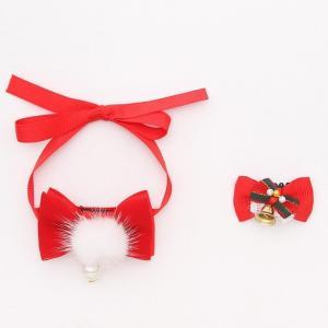 クリスマス プチギフト プチ プレゼント アクセセット ギフト アクセサリー 犬用 ブランド きゃんナナ|cannanaonline