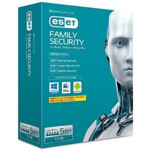 【公式ストア】ESET ファミリー セキュリティ 1年版
