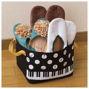 Piano line 水玉収納ボックス  お取り寄せ商品です。 ピアノ発表会 記念品 に最適 音楽雑貨 ねこ雑貨 バレエ雑貨 記念品に最適 音楽会粗品
