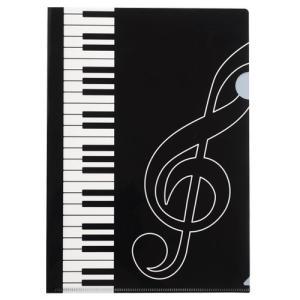Piano line A4ファイル お取り寄せ商品です。 ピアノ発表会 記念品 に最適 音楽雑貨 ねこ雑貨 バレエ雑貨 記念品に最適 音楽会粗品