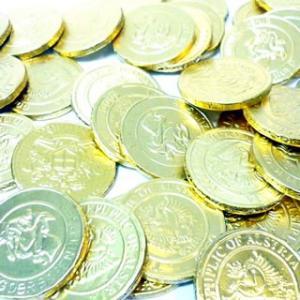 金貨チョコ 単価8.5円×100入|canyonplaza