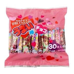 うまい棒バレンタインチョコ 単価8.5円×30本入【うまい棒 バレンタイン HAPPY VALENTINE】|canyonplaza