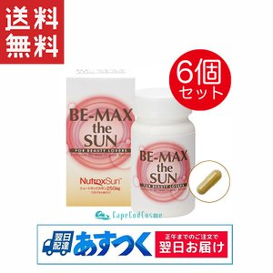 BE-MAX the SUN ビーマックスザサン 30カプセル×6個セット サプリ 父の日|capecodcosme