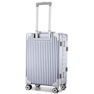 (アスボーグ) ASVOGUE スーツケース キャリーケース TSAロック 半鏡面仕上げ アライン加工 アルミフレーム レトロ 旅行 出張|caply