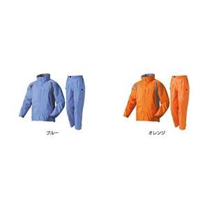(ロゴス)LOGOS ジュニアレインスーツコスモブルー 130 28105152|caply