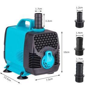 LNSTUDIO 55W 水中ポンプ ウォーターポンプ 水族館給水・排水ポンプ 吐出量3000L/H...