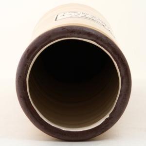 不二貿易 傘立て 陶製 イリデセンス 直径14.7×高さ41.5cm マスタード 12296|caply