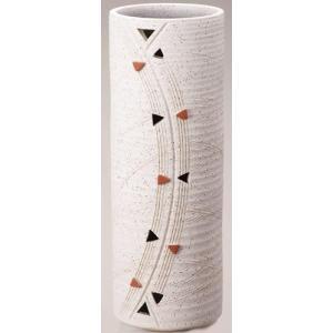 信楽焼陶器 傘立 トライアングル傘立(L) 高さ58.0cm 335-01|caply