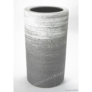 信楽焼陶器 傘立 刷毛目傘立 高さ45.0cm 7101-07|caply