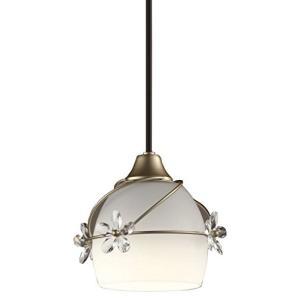 オーデリック ペンダントライト LED電球ミニクリプトン形4.3W(E17) 電球色 SH5018LD W|caply