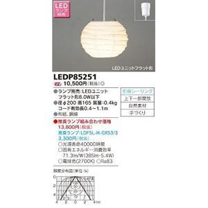 東芝 和風照明 LED小型ペンダントライト LEDP85251|caply