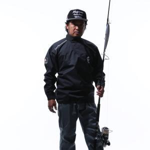 MAZUME(マズメ) レッドムーンプルオーバーレインジャケット MZRJ-358-02 ブラック L|caply