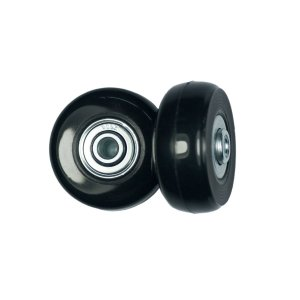 静音シリーズキャスター 車輪用交換タイヤキット スーツケース, ショッピングカート, キャリーバッグ タイヤどの車輪補修用 キャスター取替え|caply