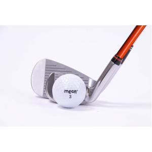 EQ 極小ヘッド アイアン ムチのようにしなる ロジャーキング スイングドクター ゴルフスイング練習機 (オレンジシャフト)|caply