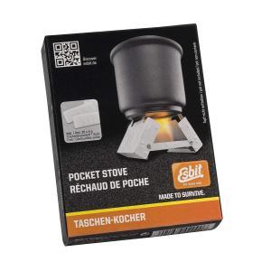 Esbit(エスビット) ポケットストーブ ラージ(固形燃料14g×12個付) ES00289000