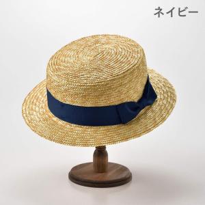 ティナダッチマン カンカン帽 麦わら帽子 メンズ レディース 帽子 Boater Hat ボーターハット OneSize ブラック|caply