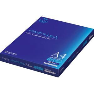 コクヨ パウチフィルム 150ミクロン A4サイズ 100枚 MSP-15F220307N|caply
