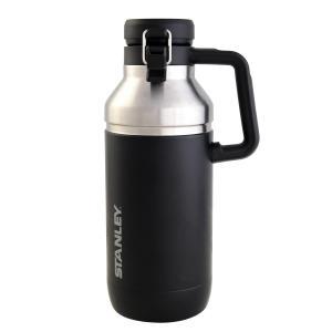 STANLEY(スタンレー) ゴーシリーズ 真空グロウラー 1.9L ブラック 炭酸飲料 06688-003 (日本正規品)|caply