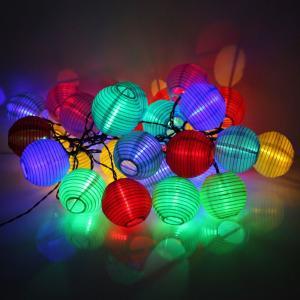 LEDイルミネーションライト ソーラー 屋外 室内の飾り 灯籠型 ガーデンライト 配線不要 イルミネ...