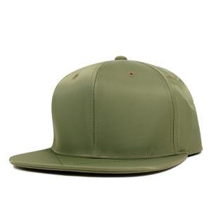 ブラックスケール スナップバック キャップ ナイロン エムエーワン オリーブ 帽子