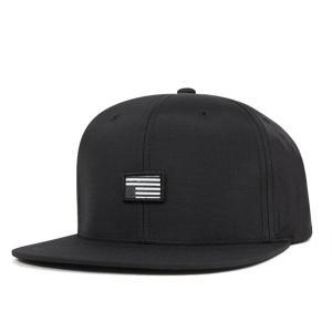 ブラックスケール スナップバック キャップ レベル ブラック 帽子