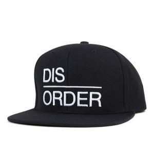 ブラックスケール スナップバック キャップ ディスオーダー ブラック 帽子