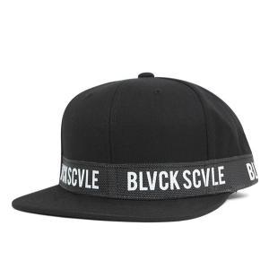 ブラック スケール スナップバック キャップ バリスティック ブラック 帽子 送料無料