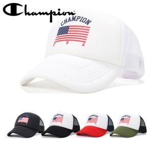 チャンピオン メッシュキャップ 帽子 CUSTOM TRUCKER CHAMPION メンズ