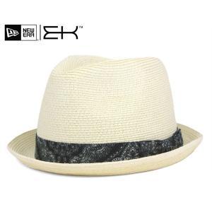 ニューエラ ストローハット 帽子 NEW ERA コラボ|caponspotz