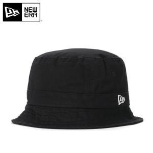 ニューエラ バケットハット 帽子 NEW ERA ブラック|caponspotz