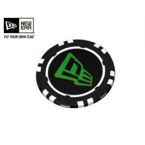 ニューエラ NEW ERA ゴルフ チップ マーカー フラッグ ロゴ ブラック (YP)|caponspotz