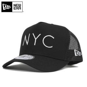 ニューエラ NEW ERA メッシュ キャップ ブラック 帽子
