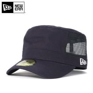 ニューエラ ワークキャップ 帽子 メッシュキャップ NEW ERA ネイビー|caponspotz