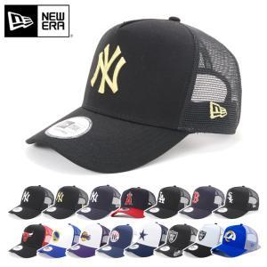 ニューエラ メッシュキャップ 帽子 NEW ERA 9FORTY Dフレーム