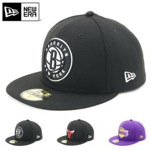 ニューエラ 59FIFTY キャップ NBA | 帽子 メンズ レディース ベースボールキャップ |...