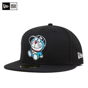 ニューエラ NEW ERA×ドラえもん キャップ キャラクター ブラック 帽子