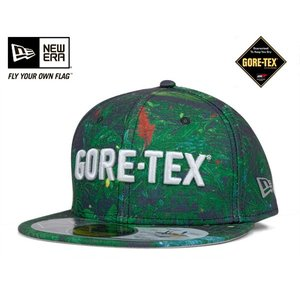 ニューエラ NEW ERA × ゴアテックス アウトドア キャップ ジャングル グリーン 帽子