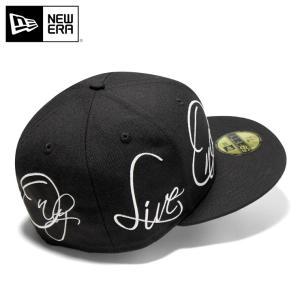 別注 ニューエラ キャップ 帽子 59FIFTY NEW ERA YOLO ブラック メンズ|caponspotz