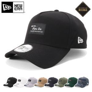 別注 ニューエラ キャップ 帽子 9FORTY BLACK PATCH