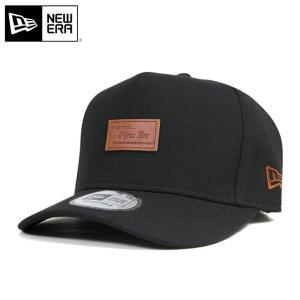 ニューエラ キャップ 帽子 NEW ERA 9FORTY Dフレーム ブラック メンズ レディース|caponspotz