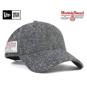 ニューエラ NEW ERA×ハリスツイード ストラップバック キャップ  ウィンドペン 帽子