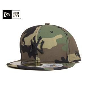 ニューエラ NEW ERA ×ゴアテックス キャップ ニューヨーク ヤンキース ウッドランドカモ 帽子