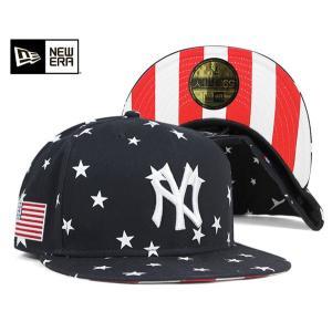 ニューエラ NEW ERA キャップ ニューヨーク ヤンキース スターズ アンド ストライプス ネイビー 帽子