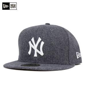 ニューエラ NEW ERA キャップ ニューヨーク ヤンキース ツイード チャコール 帽子