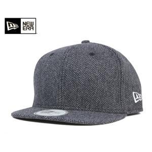 ニューエラ NEW ERA アンパイア キャップ アジャスタブル ツイード チャコール 帽子