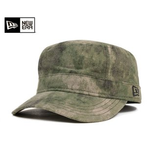 ニューエラ NEW ERA ワーク ミリタリー キャップ  スプレーカモ 帽子